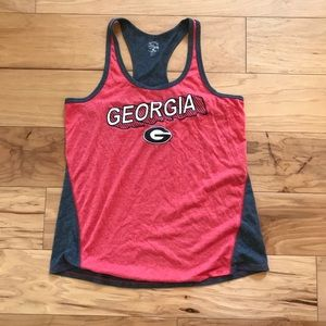 Tops - University of Georgia UGA Bulldogs Tank Top